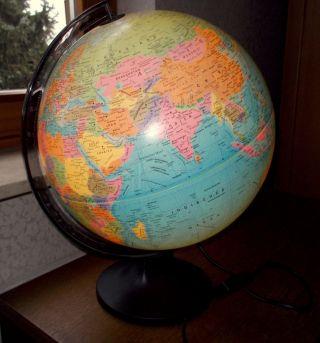 Globemaster Globus 30,  5cm Durchmesser Mit Licht Top Bild