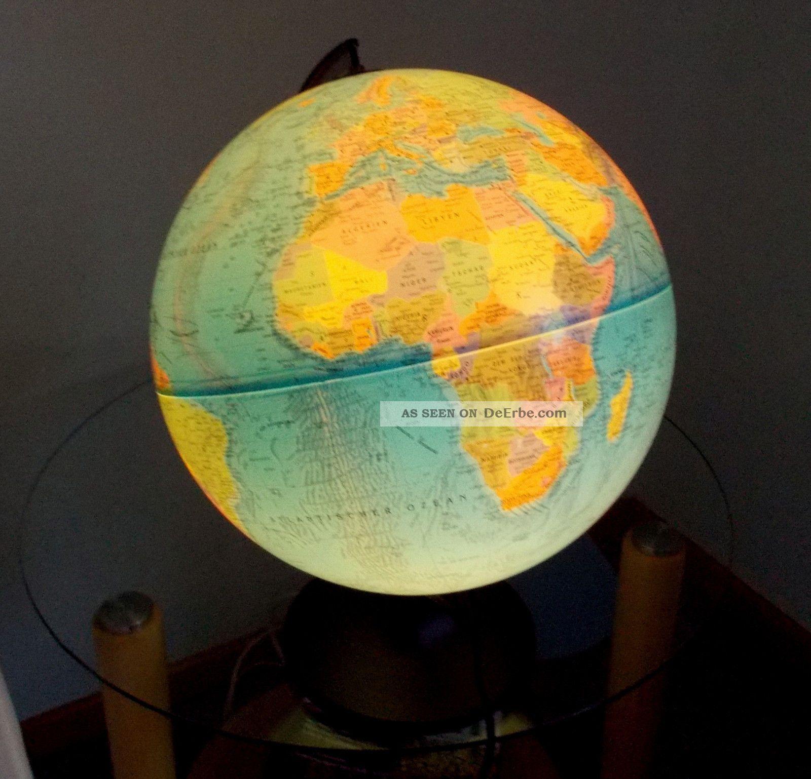 globus mit licht globus mit licht leucht globus eur 10 00. Black Bedroom Furniture Sets. Home Design Ideas