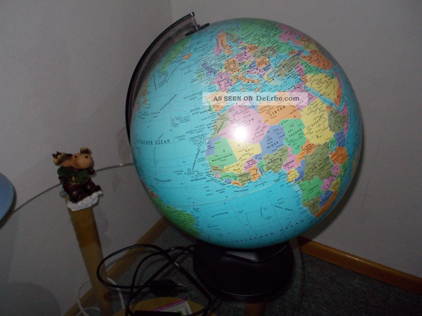 globemaster globus 30 5cm durchmesser mit licht top. Black Bedroom Furniture Sets. Home Design Ideas