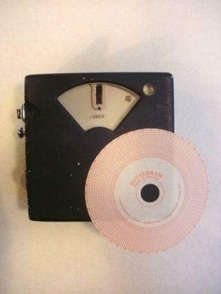 Seltene Taubenuhr Aus England,  Constateur,  Pigeon Clock,  Duivenklok,  Rotherham Bild