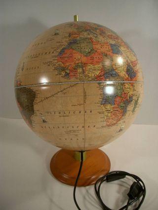 Erdglobus Tisch Globus Leuchtglobus Weltkugel Reader`s Digest Antikstil Bild