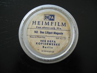 Alter Ddr Defa Film Nr 143,  8mm Das Liliput - Magazin Heimfilm Bild