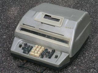 Hamann 1.  Elektro Mechanische Rechenmaschine Rechenautomat Berlin 50er Jahre Bild
