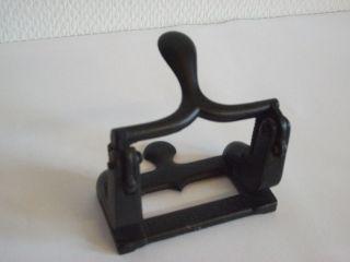 Schwarzer Soennecken Locher Lo 18 Nr.  238.  80 Sehr Antik - Sammlerstück Bild