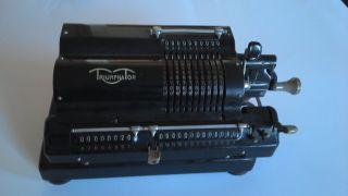 Triumphator Rechenmaschine Ca.  1955 Bild