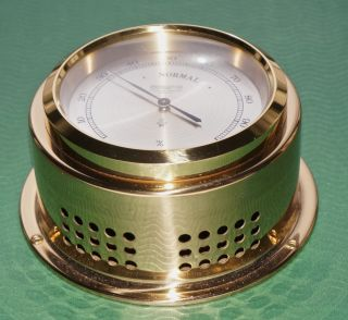 Altes Schiffshygrometer Hygrometer Wempe Chronometerwerke Hamburg Bild
