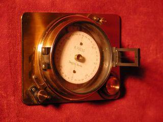 Sehr Schöner Antiker Kompass - R.  Fuess Steglitz - Berlin - - - Messing Bild