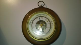 Dekoratives Barometer / Anfang 1950 Bild