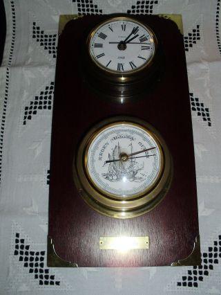 Barometer - Uhr - Von Der Firma