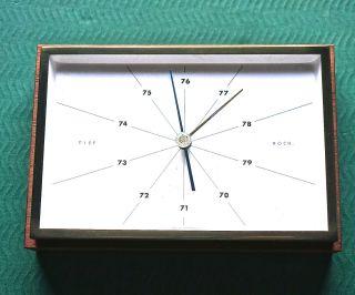 Altes Barometer Von Moco Kompensiert Bild