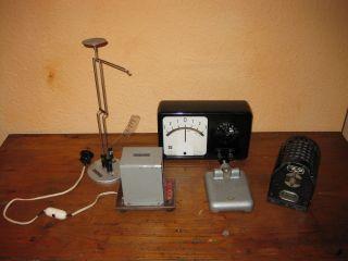 Messgerät Instrumente Zubehör Prof.  Dr.  Maey Phywe Schule Lehrmittel Physik Alt Bild