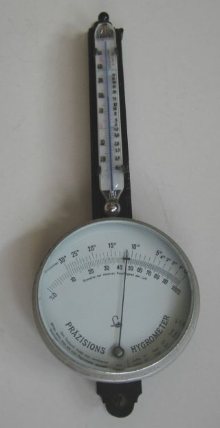 Altes Lufft Präzisions Hygrometer Mit Thermometer Sättigungsdruck Bild