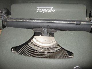 Antike Reiseschreibmaschine Torpedo Bild