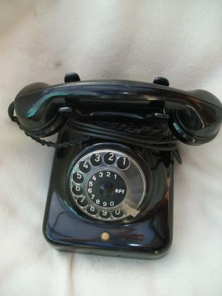 Ddr Telefon Nordfern W38 Mit Glasglocken,  Ostalgie,  Telephone,  Telefon Bild