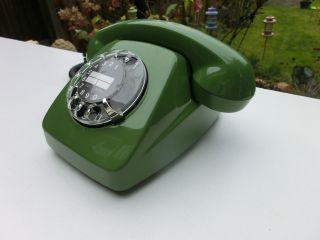 611 Telefon Post.  Farngrün 1980 Bild