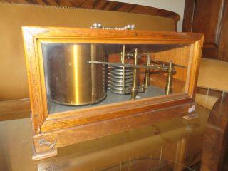 Antikes Barometer Barograph Luftdruckmesser 19.  /20.  Jhdt. Bild