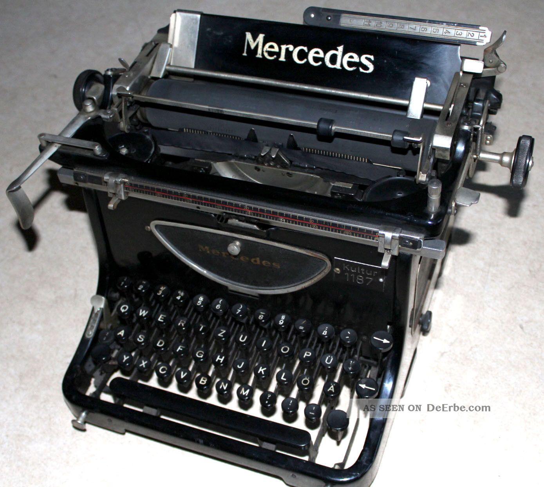 schreibmaschine modell mercedes zella mehlis th ringen. Black Bedroom Furniture Sets. Home Design Ideas