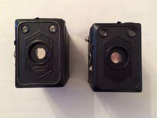 2 Kameras,  Zeiss Baldur,  Zeiss Erabox 52/2,  1934,  6x9,  Deutschland Bild