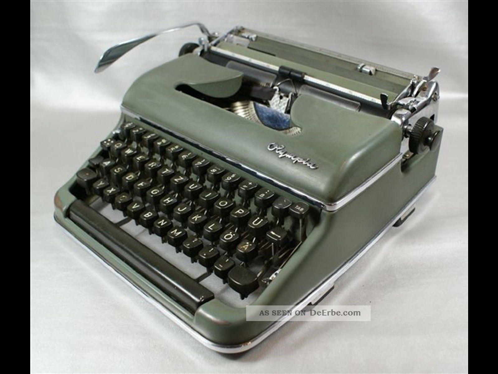 olympia schreibmaschine sm3 reiseschreibmaschine mit koffer. Black Bedroom Furniture Sets. Home Design Ideas