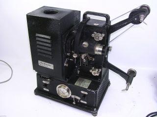 Antike Nizo 16 Mm Projektor Modell Hs 16 Mm Oldtimer Baujahr 1933 Bild