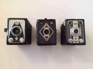 Bilora Box Kamera,  6x9,  3 Stück,  1952,  Deutschland Bild