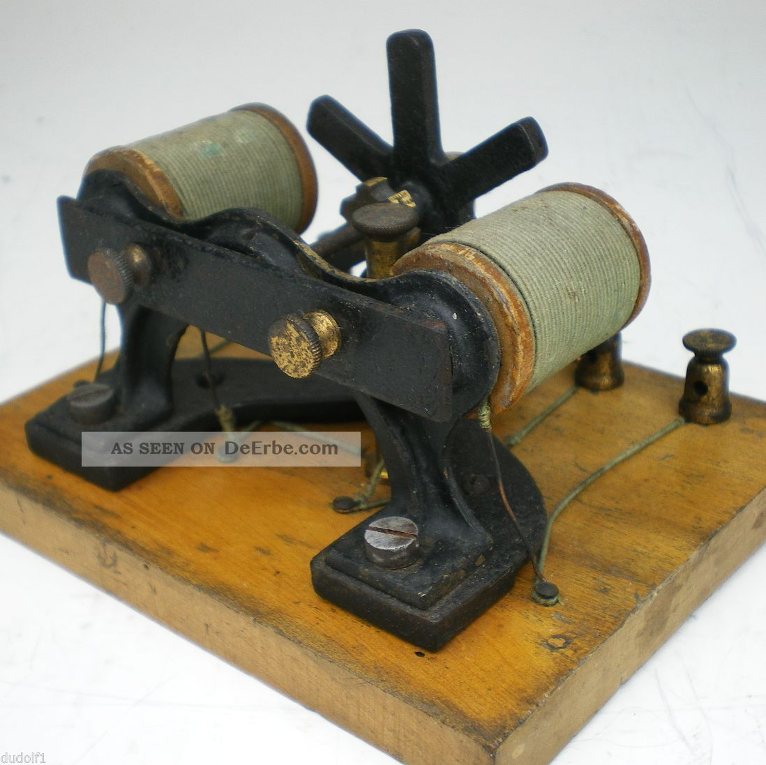 dynamo elektromotor conrad klein spielzeug elektro electric motor n rnberg 1900. Black Bedroom Furniture Sets. Home Design Ideas