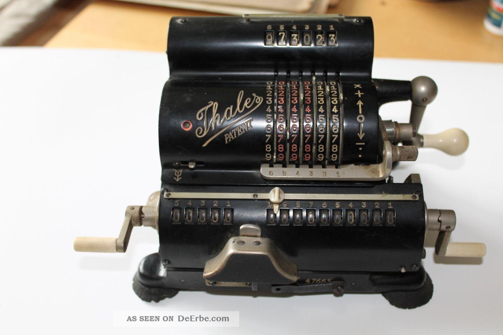 Thales patent rechenmaschine