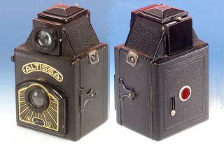 Altissa S Spiegelbox 6x6 Rollfilm 120 Rodenstock Periscop Altissar 1:8 Bild