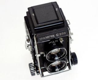 , Mamiya C330 Professional 6x6 Rollfilmkamera,  Sekor F=80mm 1:2,  8mm Objektiv, Bild