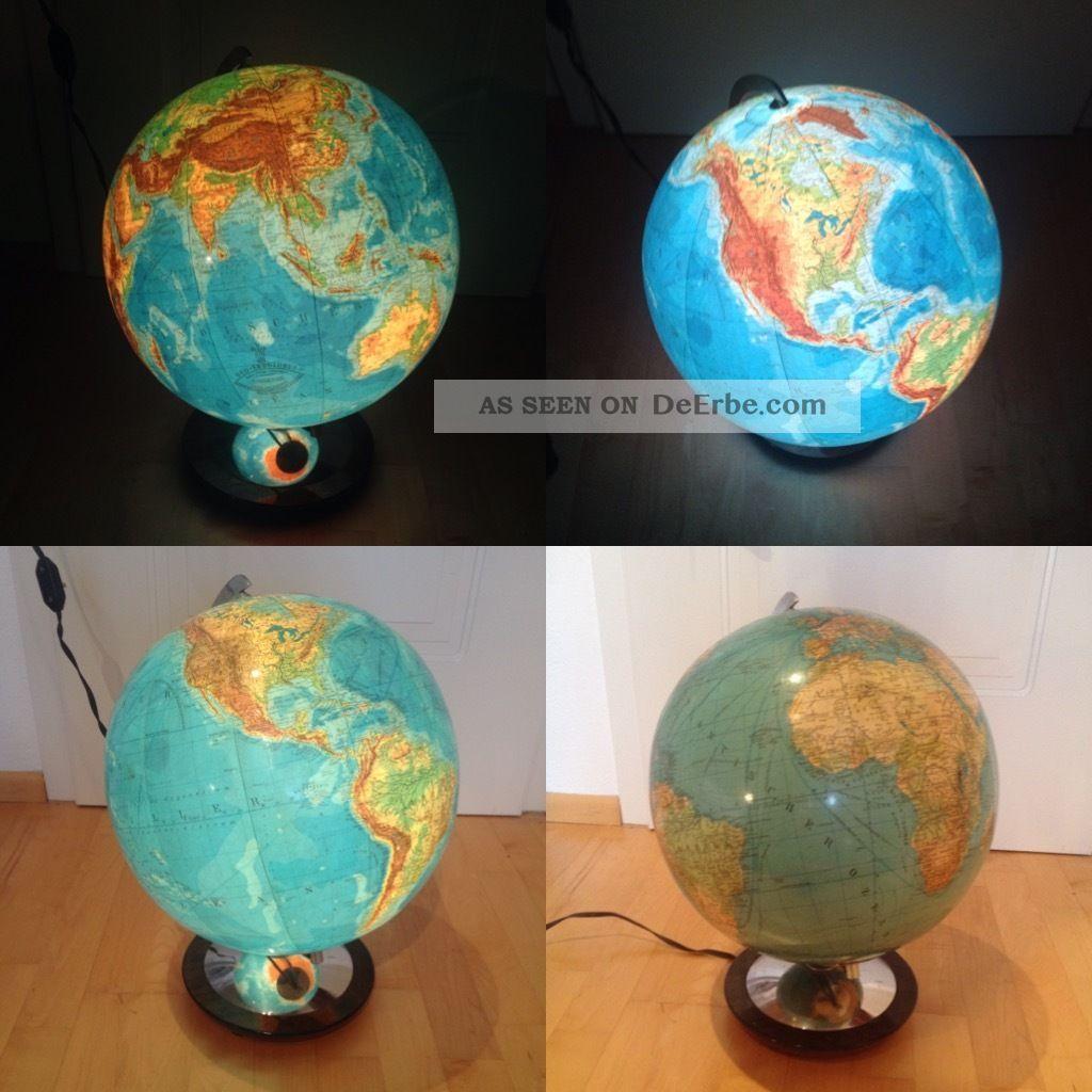 beleuchteter globus columbus duo erdglobus glas. Black Bedroom Furniture Sets. Home Design Ideas