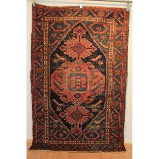 Semi Antiker Handgeknüpfter Perser Orientteppich Malayer Carpet 135x210cm 230 Bild