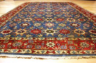 Antiker Blumenteppich Waramin / Kaschmir