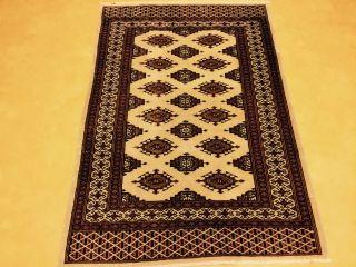 Alter Buchara Teppich 155x110cm Bild