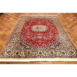 Wunderschöner Handgeknüpfter Dekorativer Orientteppich Blumen Teppich 200x300cm Bild