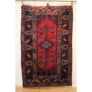 Antiker Handgeknüpfter Orientteppich Milas Anatolien Tappeto Rug 187x116cm 251 Bild