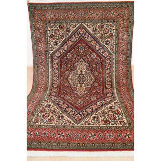 Majestätischer Feiner Handgeknüpfter Perser Orientteppich Korkwolle 110x170cm Bild