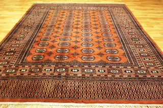 Alter Buchara Youmut 275x190cm Orient Teppich Carpet Tappeto Tapis Afghan 3655 Bild