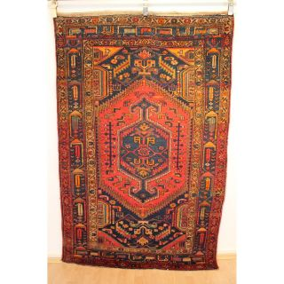 Semi Antiker Handgeknüpfter Perser Orientteppich Malayer Carpet 130x200cm 248 Bild