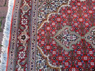 Orientalischer Teppich 144 X 102 Cm Rot - Medaillon Bild
