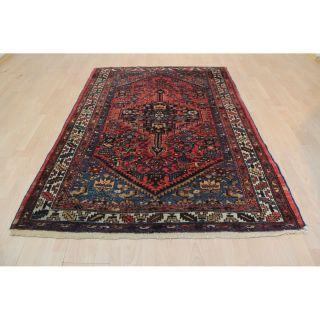 Semi Antiker Handgeknüpfter Perser Orientteppich Malayer Carpet 193x136cm 247 Bild