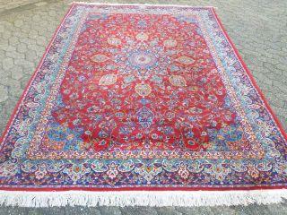 Orientteppich Persien Teppich LÄufer BrÜcke 267 X 190 Cm Bild