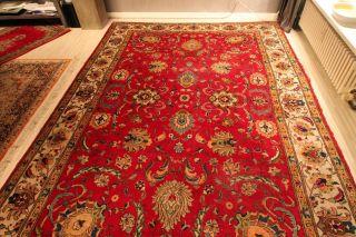 Echter Alter Handgeknüpfter Perserteppich,  Old Carpet,  Tappeto Antico,  324x224 Bild