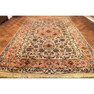 Wunderschöner Handgeknüpfter Dekorativer Orientteppich Blumen Teppich 250x380cm Bild