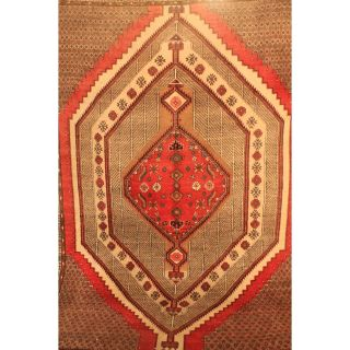 Semi Antiker Handgeknüpfter Orient Perser Palast Teppich Sarab Carpet 210x300cm Bild