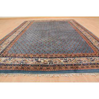 Schöner Handgeknüpfter Orientteppich Mir Teppich Rug 205x140cm Kaschmir 245 Bild