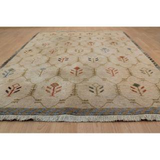 Schöner Gewebter Orientteppich Gabbeh Teppich Carpet Rug 195x140cm Nepal 244 Bild