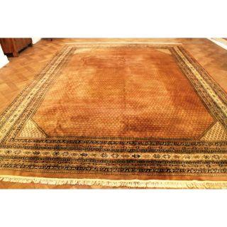Prachtvoller Handgeknüpfter Orient Palast Teppich Sa Rug Mir 300x400cm Carpet Bild