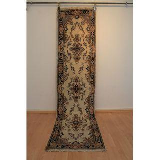 Königlicher Handgeknüpfter Orientteppich Blumen Royal Läufer 70x290cm Rug 240 Bild
