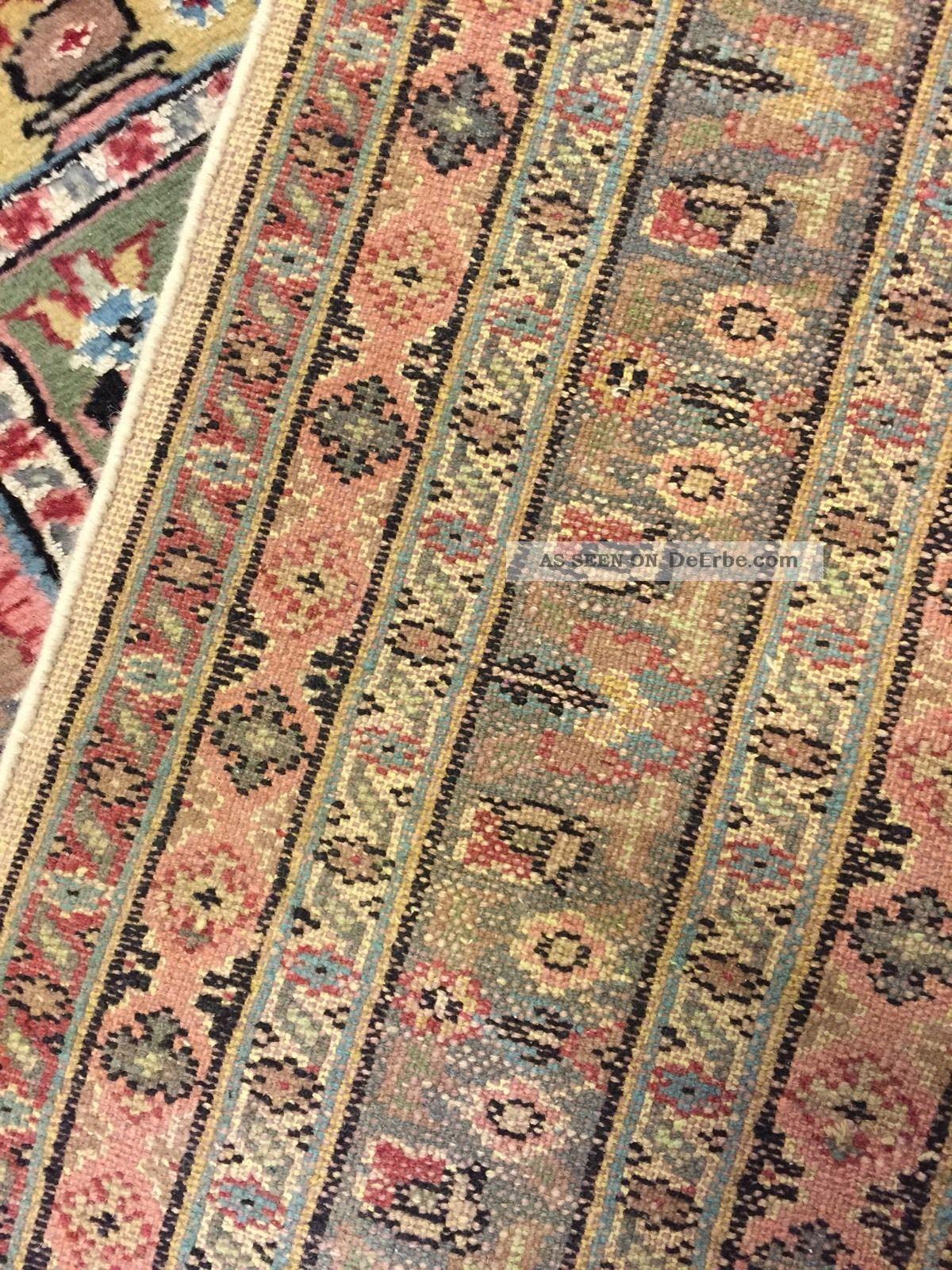 Orientteppich, Teppich, Rug, Kashmir Mit Seide 310×214