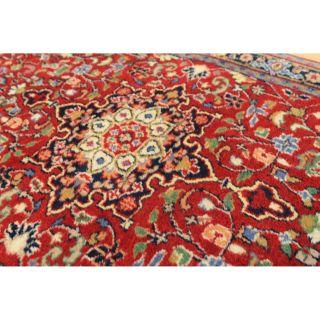Wunderschöner Handgeknüpfter Orientteppich Rosen Kaschmir 140x70cm Tapis 2365 Bild